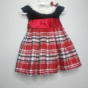 Baby girl christmas dress 12M